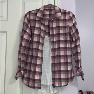 [North Face] Plaid Flannel